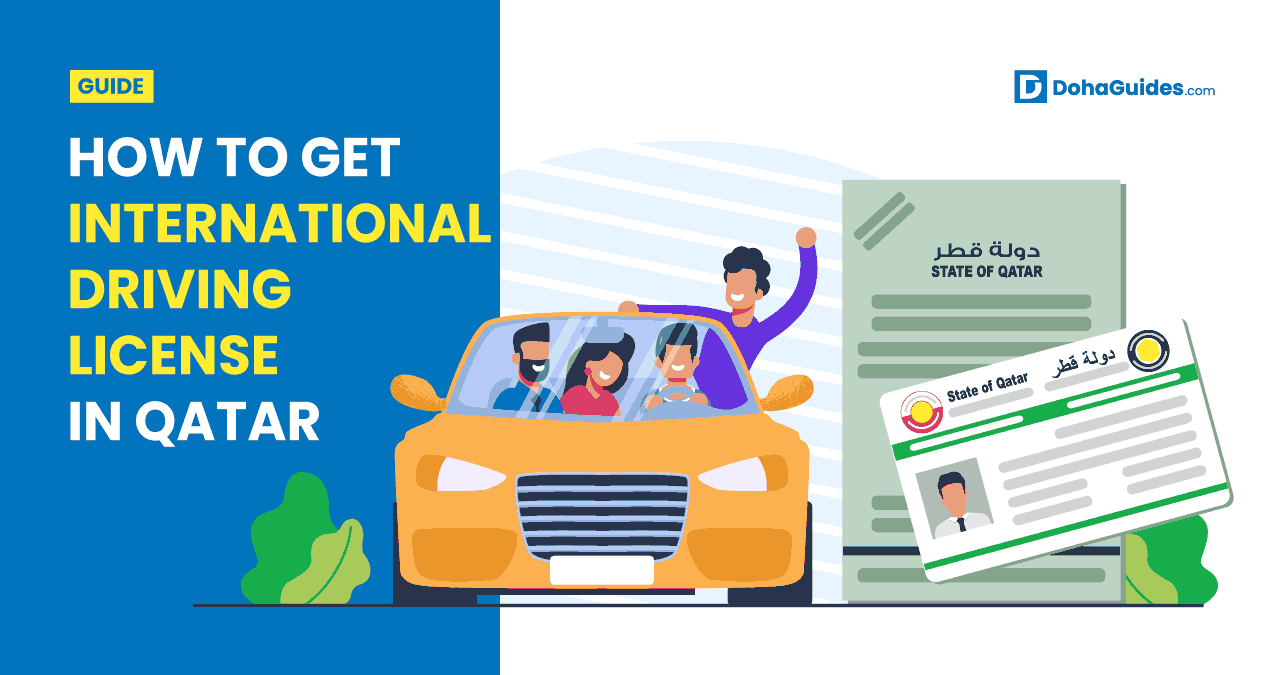 How To Get International Driving License In Qatar