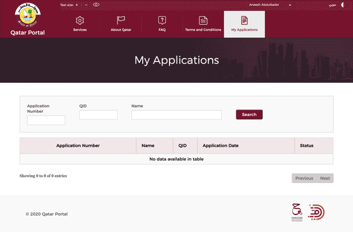 How to Check Status of Exceptional Entry Permit To Return To Qatar