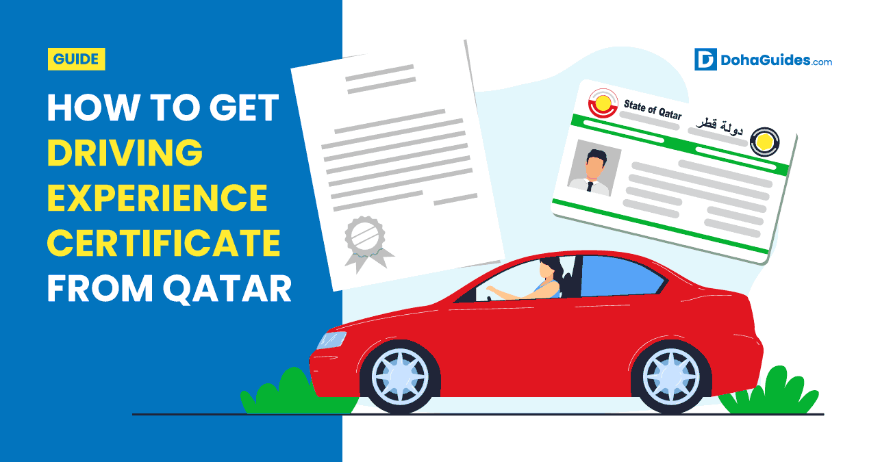 How To Get Driving Experience Certificate From Qatar