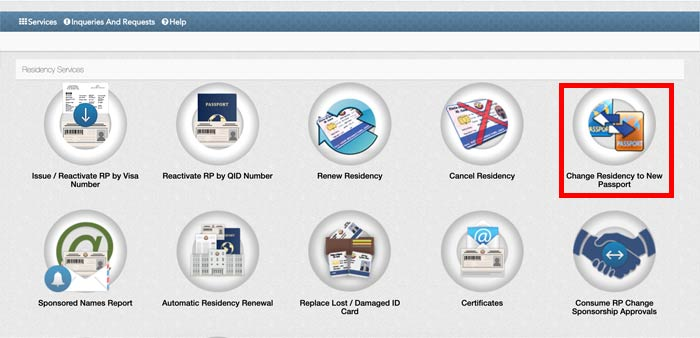 How To Change Passport Number in Qatar ID MOI Portal